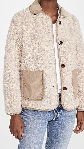 Alex Mill Sherpa Fleece Jacket