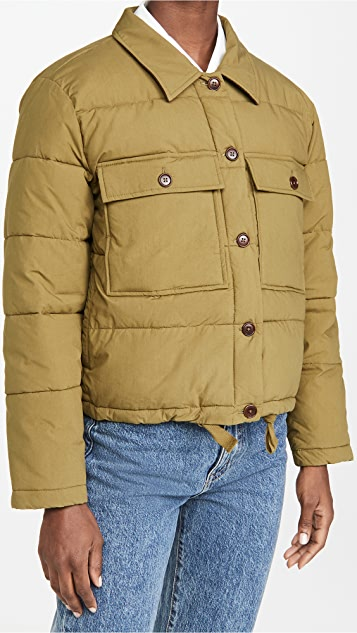 Alex Mill Quilted Cropped Jacket