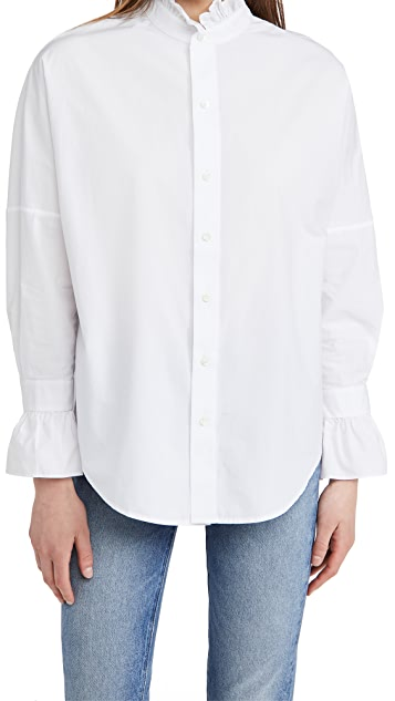 Alex Mill Easy Ruffle Shirt