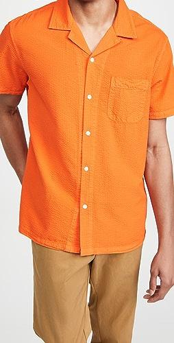 Alex Mill - Seersucker Camp Shirt