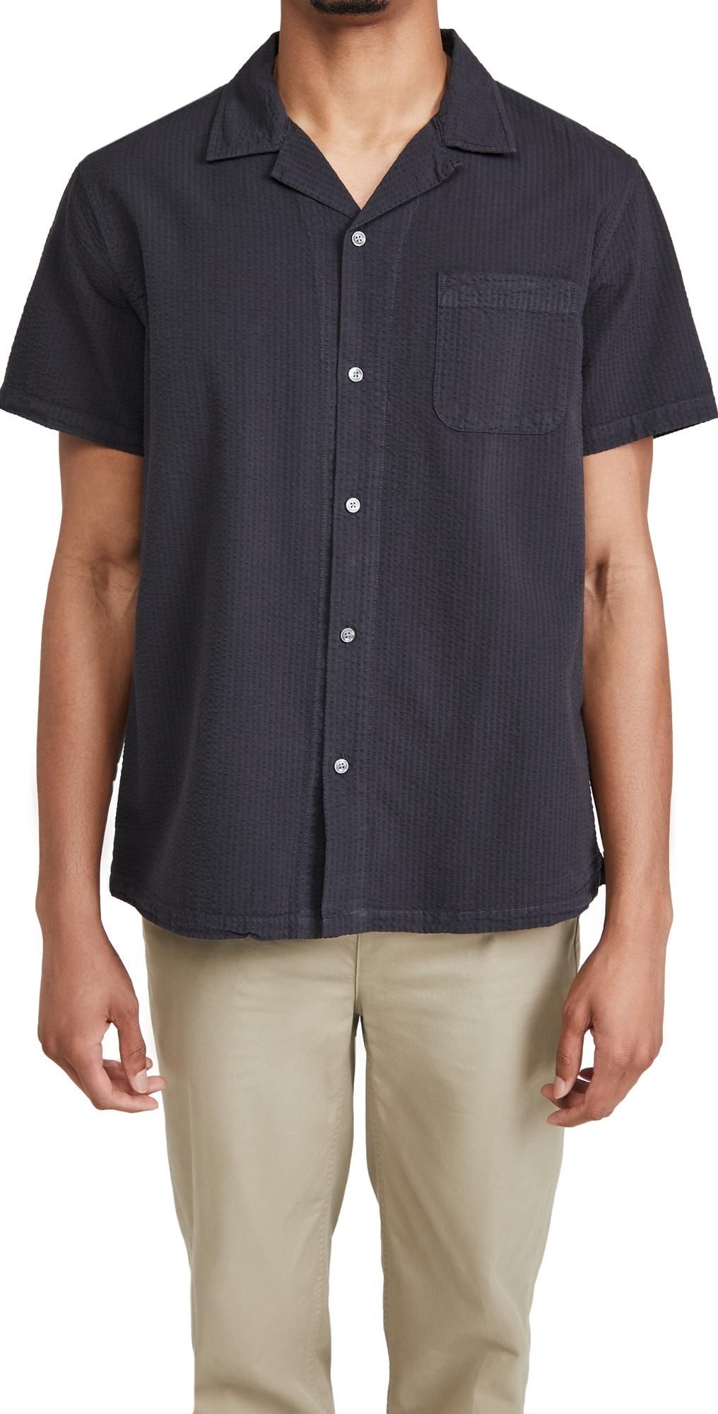 Seersucker Camp Shirt