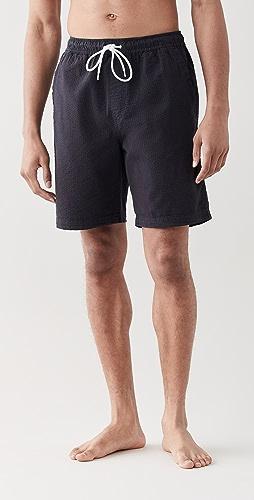 Alex Mill - Saturday Shorts in Cotton Seersucker