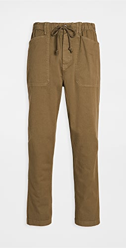 Alex Mill - Pull-On Button Fly Pants