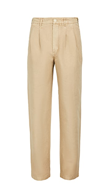 Alex Mill Double Pleat Trousers