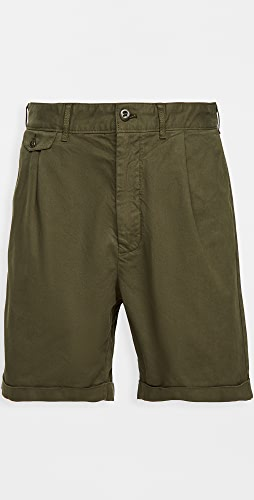 Alex Mill - Pleated Chino Shorts