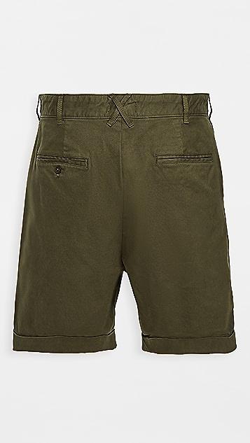 Alex Mill Pleated Chino Shorts