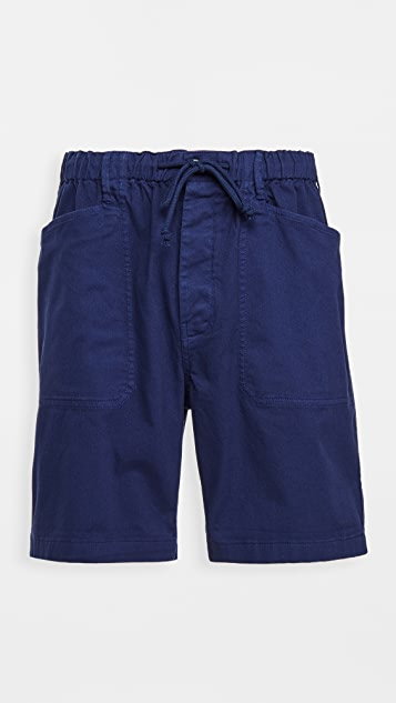 Alex Mill Button Fly Shorts in Stretch Chino Shorts