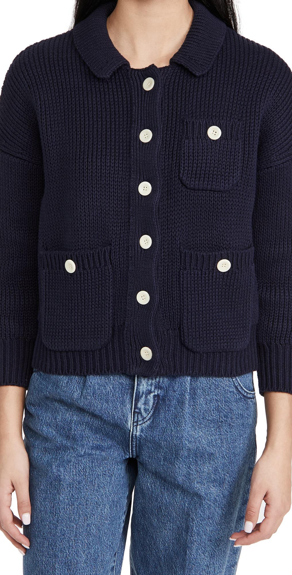 Alex Mill Work Sweater Jacket