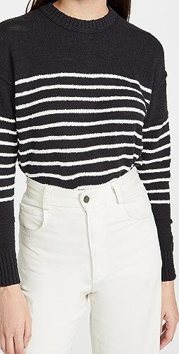 Alex Mill - Scout Texture Sweater in Stripe