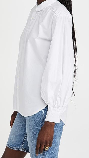 Alex Mill Kit Shirt in Paper Poplin