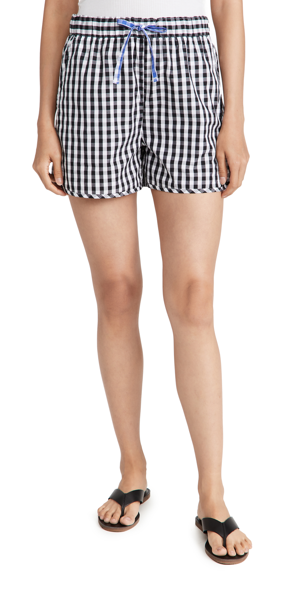 Sunny Pull On Shorts in Gingham