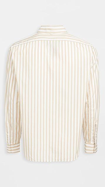 Alex Mill Portuguese Poplin Striped Easy Shirt