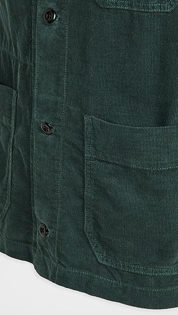 Alex Mill Work Jacket in Fine Wale Corduroy