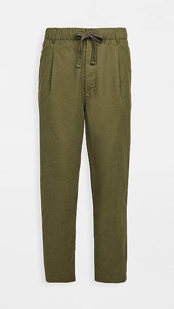 Alex Mill Pull On Pleated Pants