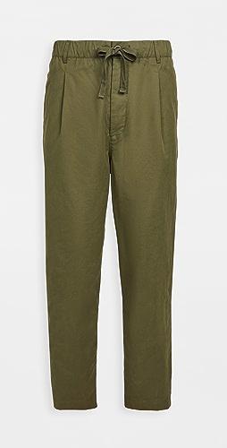 Alex Mill - Pull On Pleated Pants
