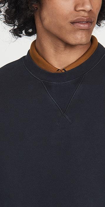 Alex Mill Garment Dyed Crewneck Sweatshirt