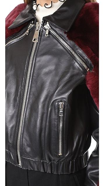AMKIE La Tinta Bomber Jacket