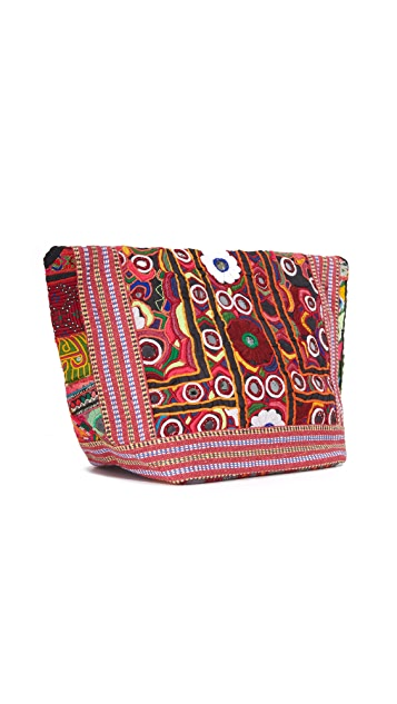 All Things Mochi Trapeze Clutch