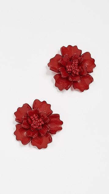 All Things Mochi Gardenia Earrings