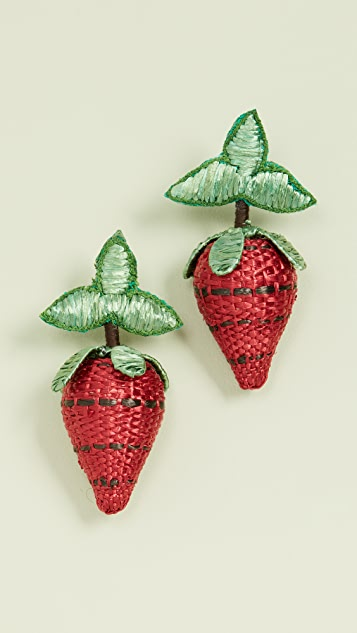 All Things Mochi Berry Earrings