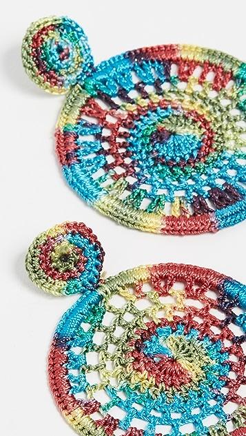 All Things Mochi Dreamy Earrings - Rainbow
