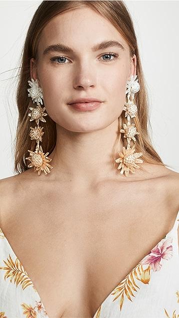 All Things Mochi Habiska Earrings - Beige
