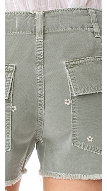 AMO Army Shorts