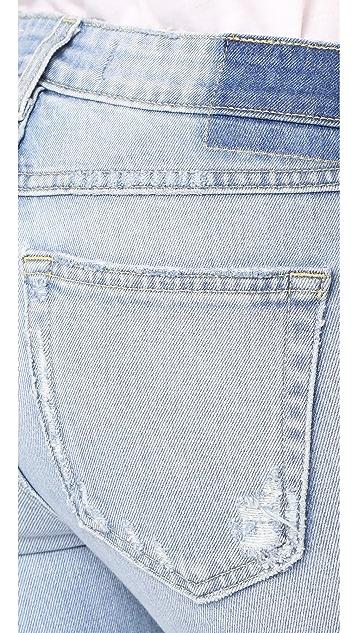 AMO Twist Fray Jeans