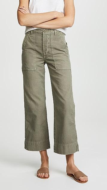 AMO Широкие брюки в стиле милитари