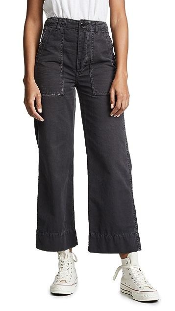 AMO Army Wide Leg Pants