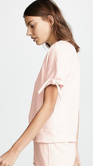 AMO Tie Short Sleeve Sweatshirt