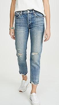 Rigid Babe High Rise Slim Straight Jeans