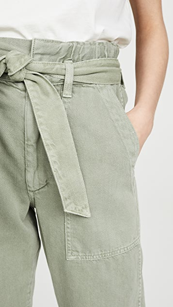 AMO Paperbag Relaxed Pants