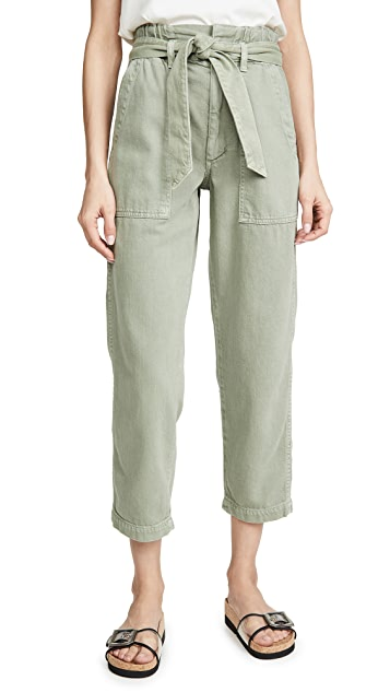 AMO Paper Bag Relaxed Pants