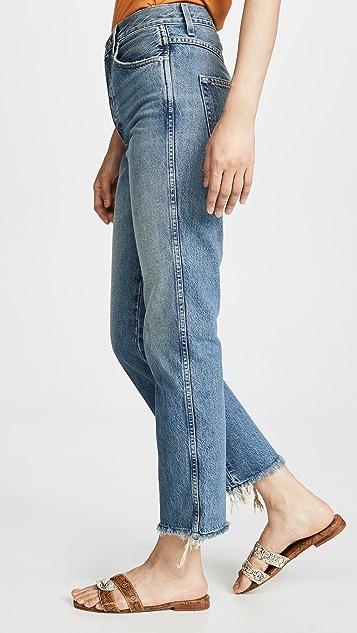 AMO Layla 高腰牛仔裤
