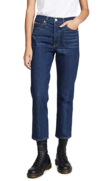 AMO Loverboy High Rise Relaxed Straight Jeans