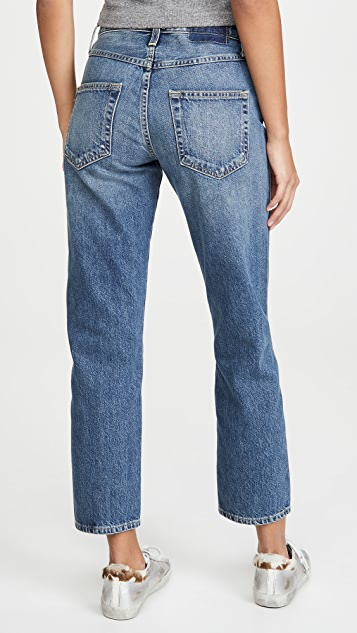 AMO Loverboy Twist High Rise Twist Seam Jeans