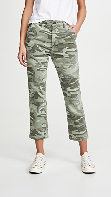 AMO Easy Trouser Relaxed Crop Straight Jeans
