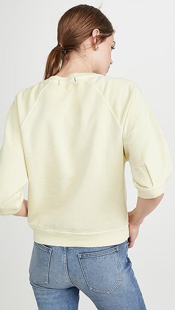 AMO Puff Sleeve Sweatshirt