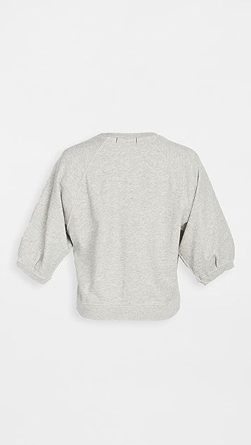 AMO 泡泡袖运动衫