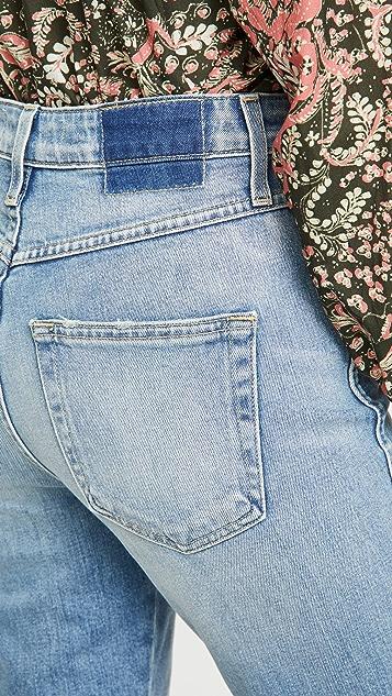 AMO Chloe 中长牛仔裤