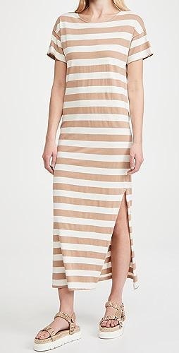 AMO - Stripe T-Shirt Dress