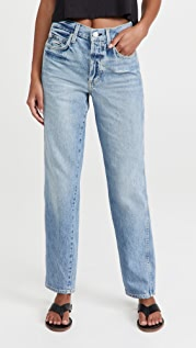 AMO Lilah High Rise Straight Jeans