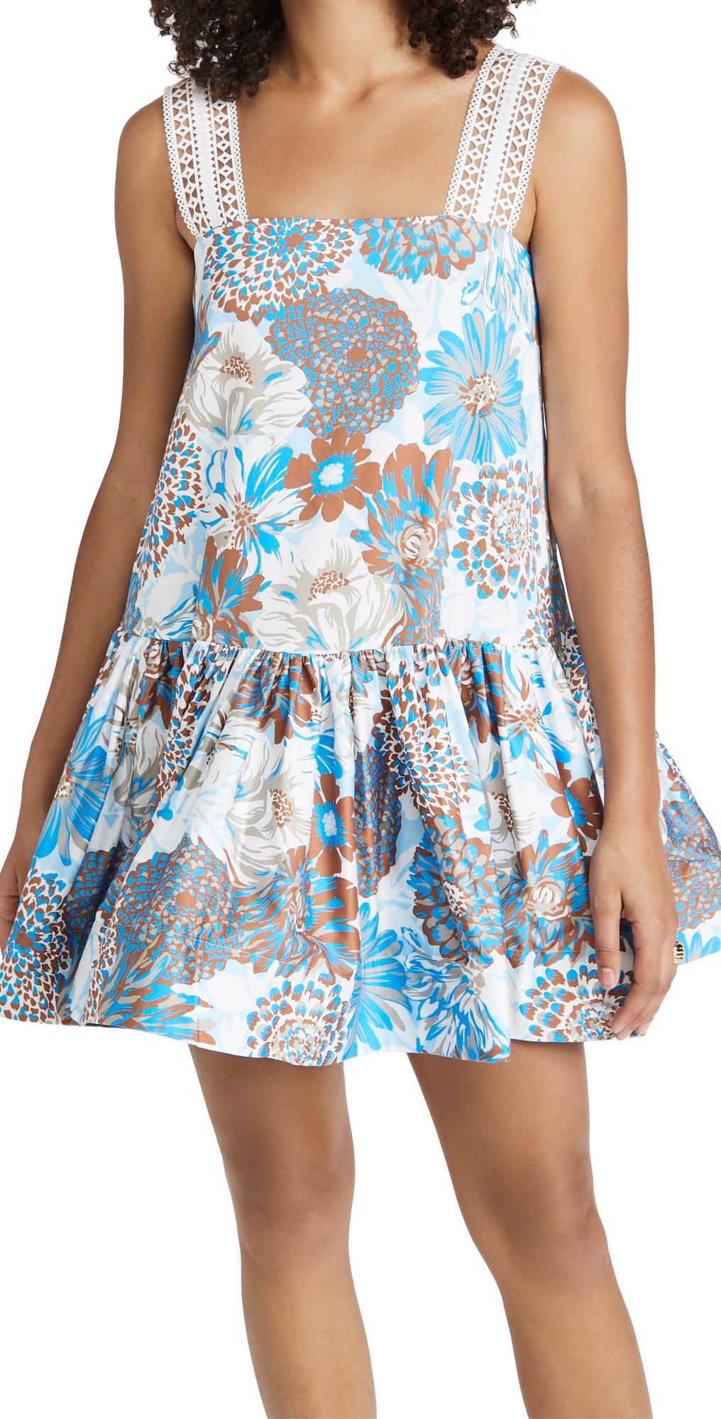 Yakeira Ruffle Dress
