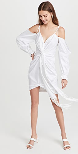 AMUR - Frida 垂褶连衣裙