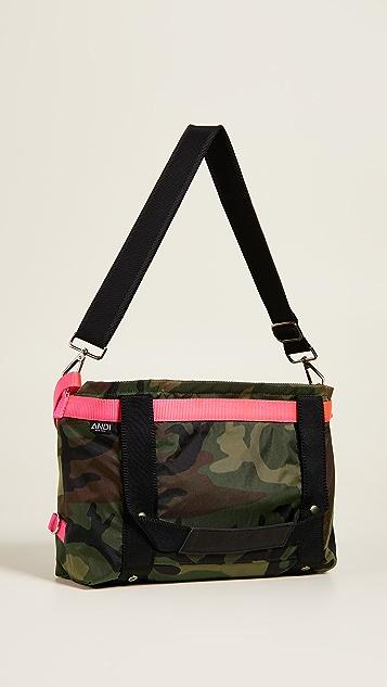 ANDI Небольшая объемная сумка ANDI с короткими ручками