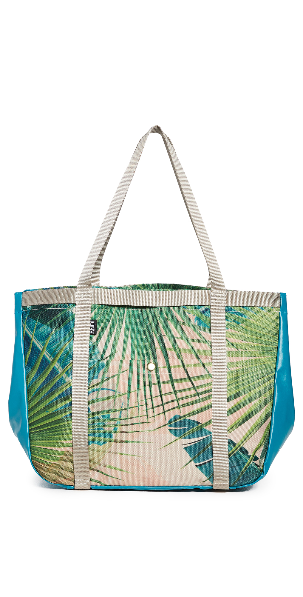 ANDI Palm Holiday Tote