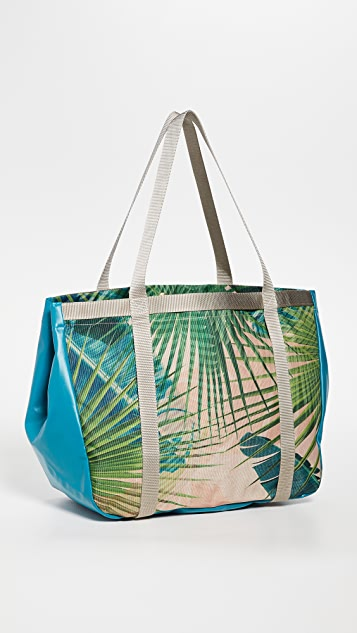ANDI Palm Holiday Tote