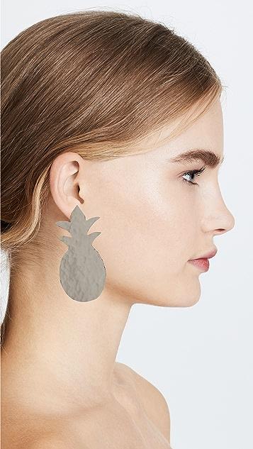 Anndra Neen Pineapple Earrings
