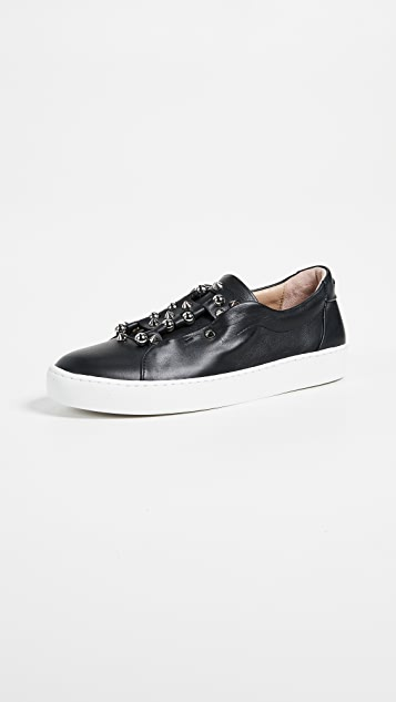 An Hour and A Shower Beatle Sneakers - Black